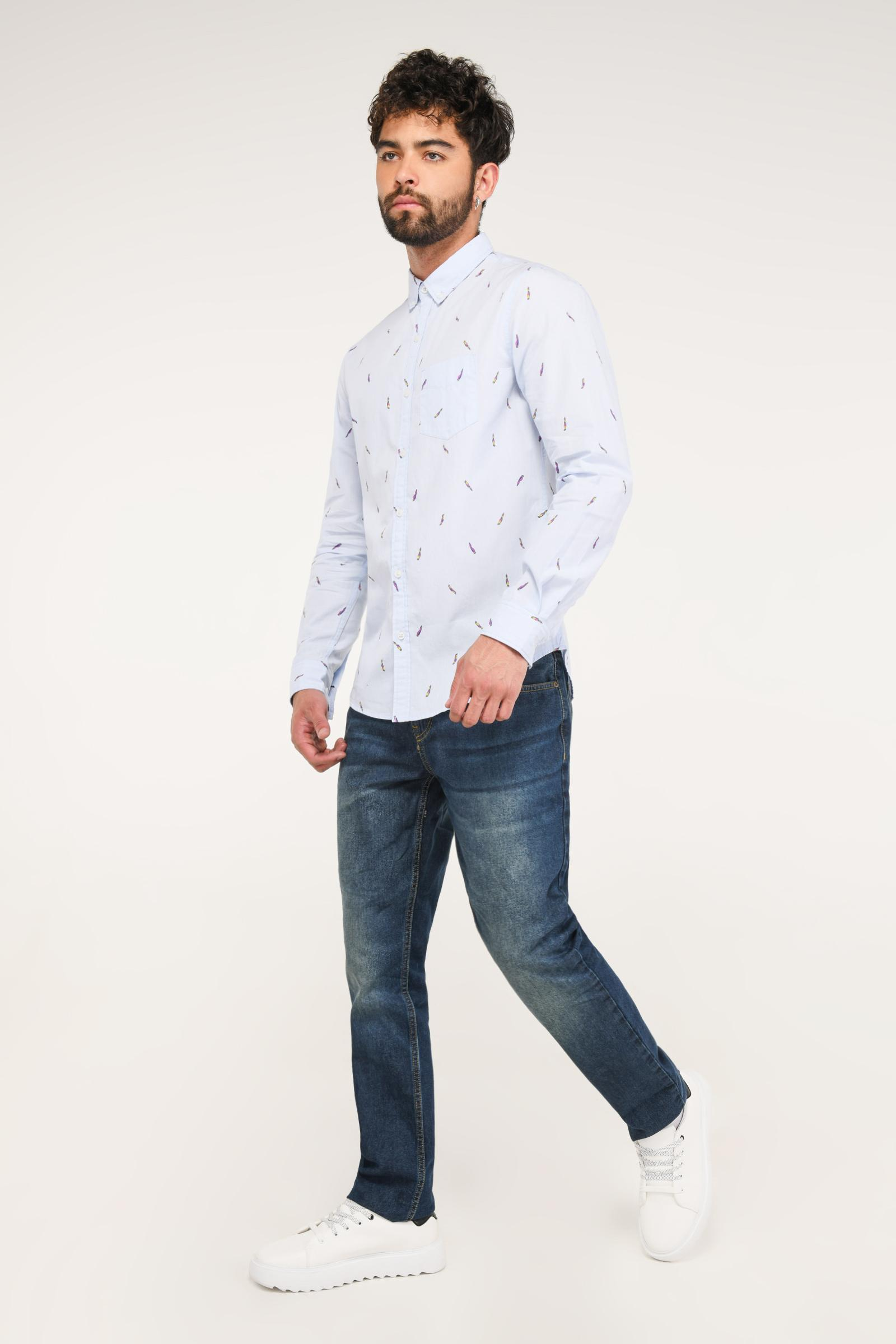 KOAJ-CAMISA KOAJ KROKET BUTTON DOWN ML 4/19