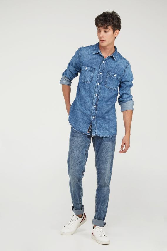 Koaj Camisa Koaj Dimer Slim M/l 4/19