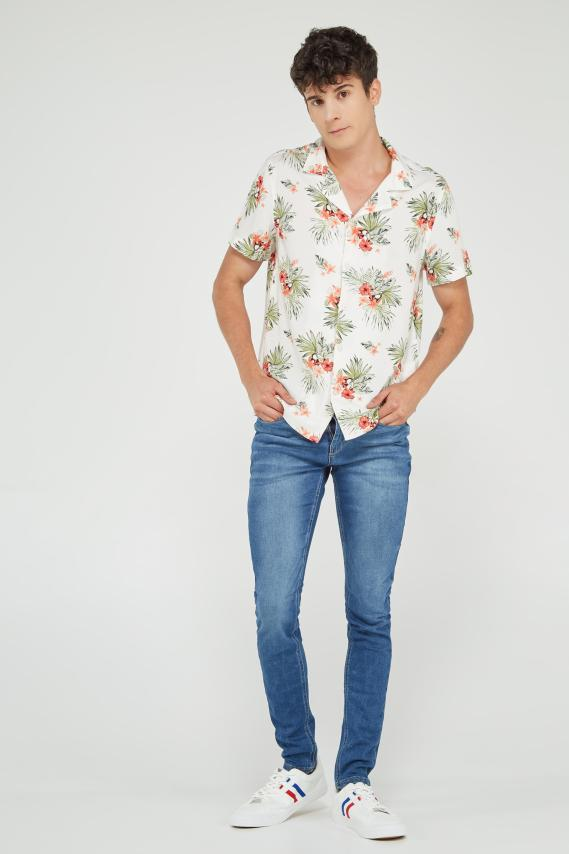 Koaj Camisa Koaj Patxi Sport Collar Mc 4/19