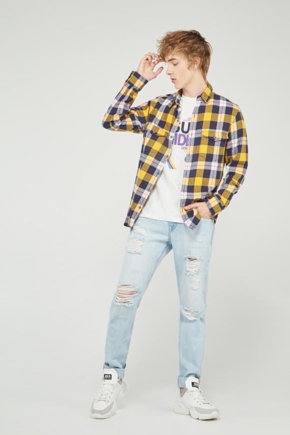 Koaj Camisa Koaj Nereo 3 Slim Ml 1/20