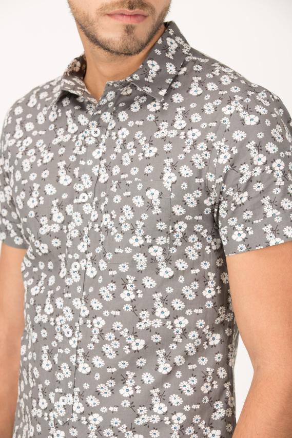 Trendy Camisa Koaj Karle Sport Collar M/c 2/16