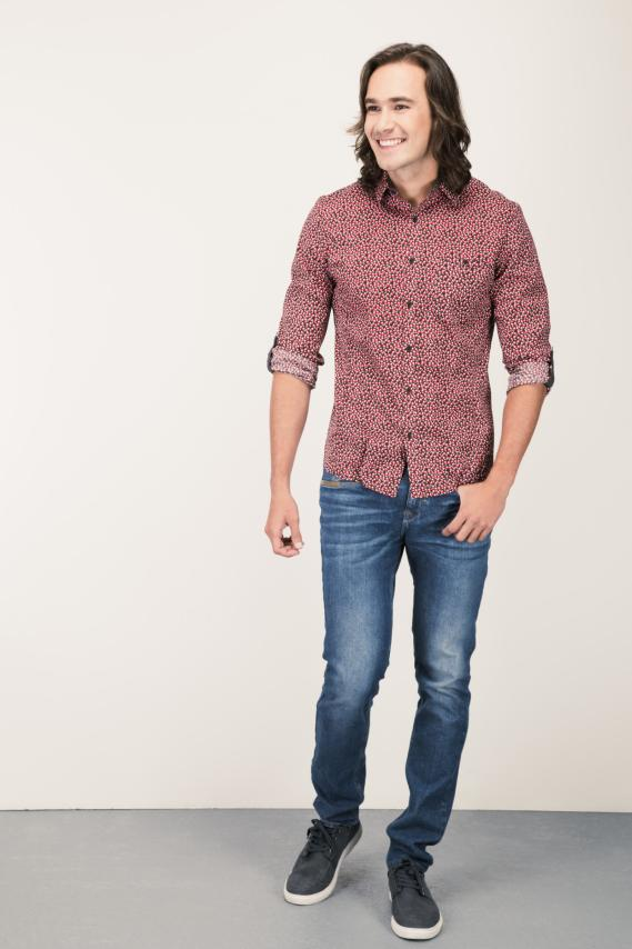 Chic Camisa Glam Abul 1 Slim M/l 3/16