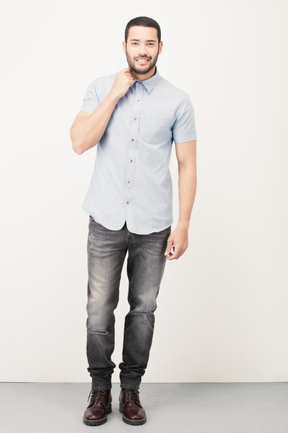Trendy Camisa Koaj Etro Sport Collar 3/16