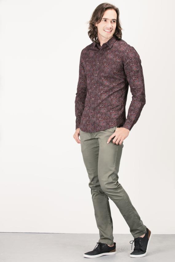 Glam Camisa Koaj Noten C.c With Stays Ml 4/16