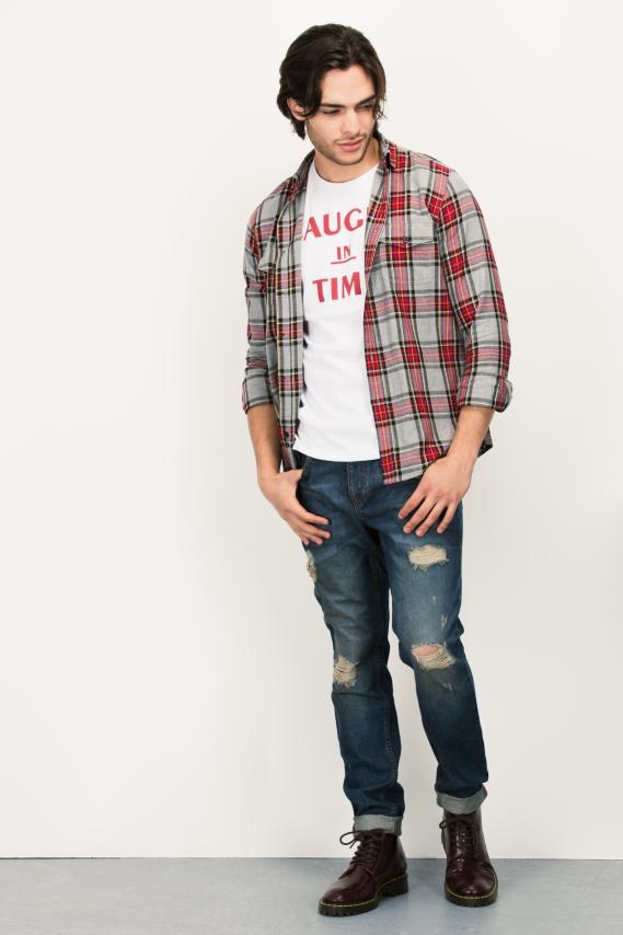 Trendy Camisa Koaj Lazer Comfort M/l 4/16
