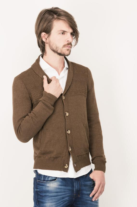 Glam Cardigan Casual Tadeo 3/16