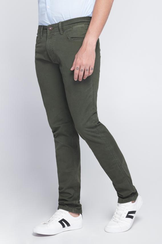 Chic Pantalon Koaj Drill Amby 1 4/18