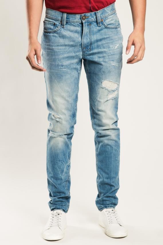 Jeanswear Pantalon Koaj Roll 34 Skinny 1/17