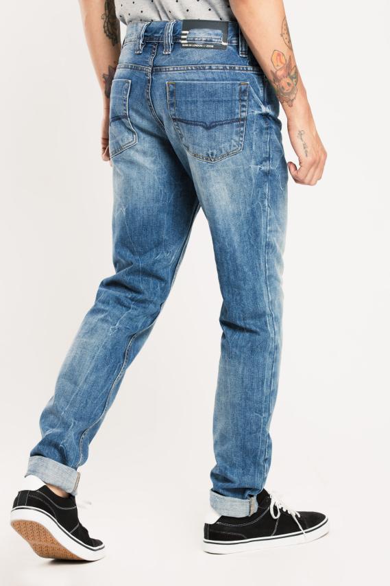 Basic Pantalon Koaj Jean Skinny Fit 2 2/17
