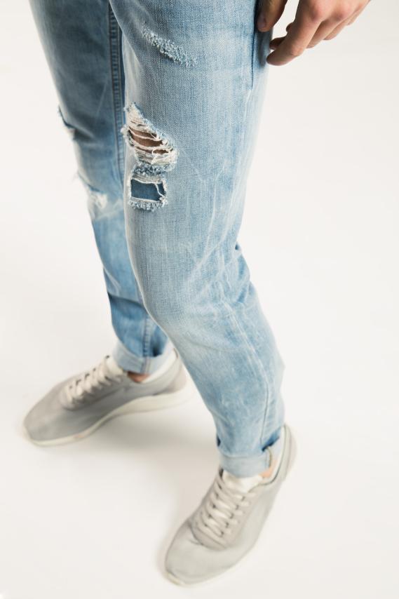 Basic Pantalon Koaj Jean Skinny Fit 3 2/17
