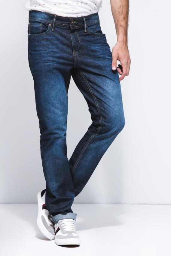 Basic Pantalon Koaj Jean Slim Rigido 2 2/18