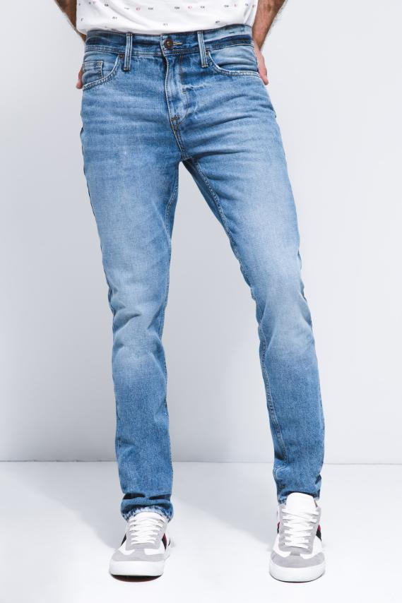 Basic Pantalon Koaj Jean Slim Rigido 4 2/18