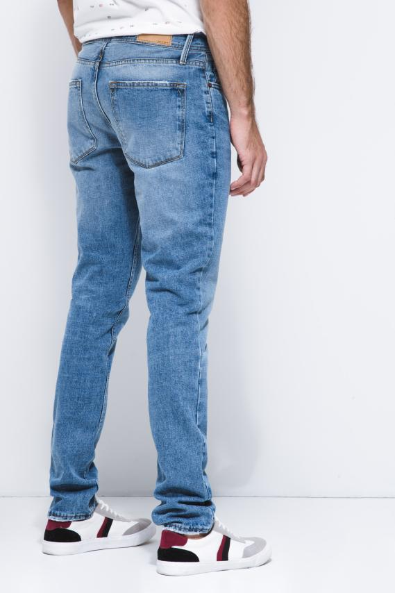 Basic Pantalon Koaj Jean Slim Rigido 4 2/18