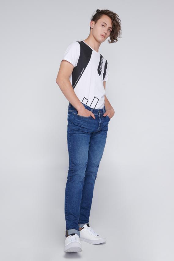 Jeanswear Pantalon Koaj Jean Roll 45 Skinny 3/18