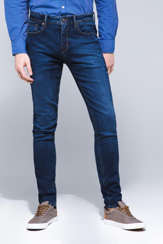 Basic Pantalon Koaj Jean Slim Rigido 16 3/18