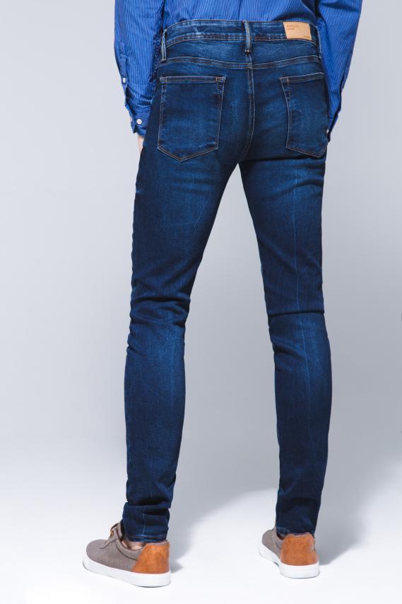 Basic Pantalon Koaj Jean Slim Rigido 16 3/18