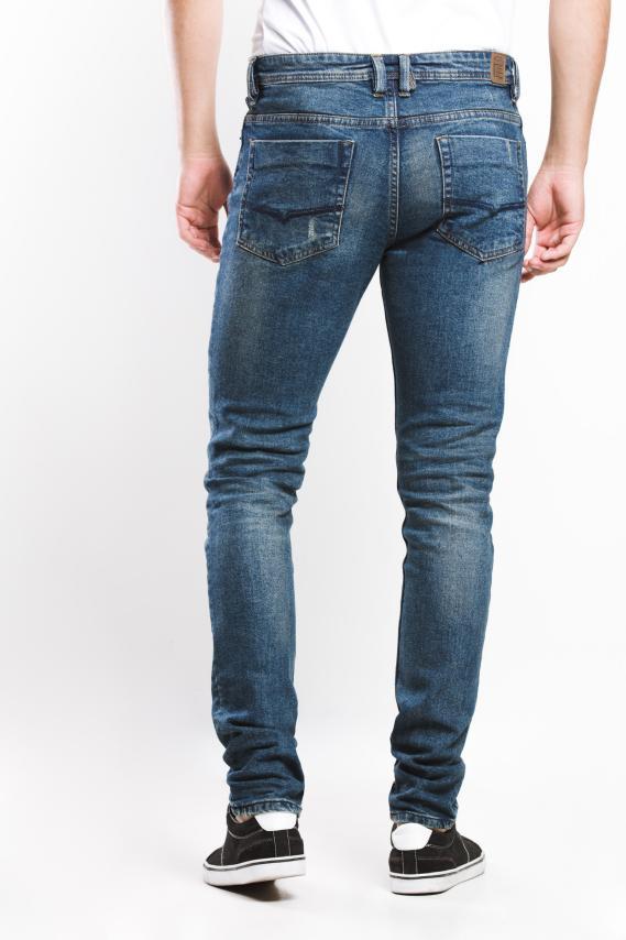 Jeanswear Pantalon Koaj Jean Roll 38 Skinny 4/17