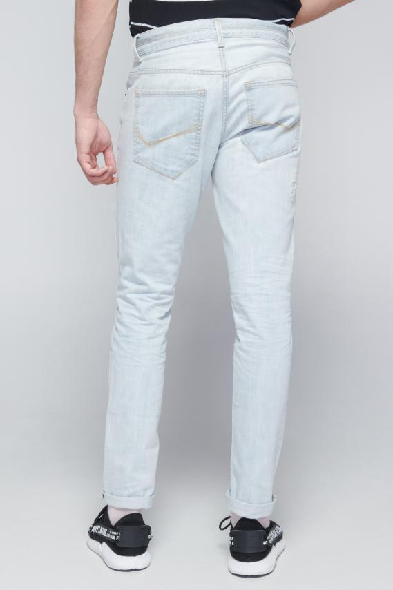 Koaj Pantalon Koaj Bleached Skinny 4/18