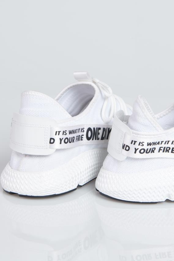Jeanswear Zapatos Koaj Whitte 4/18