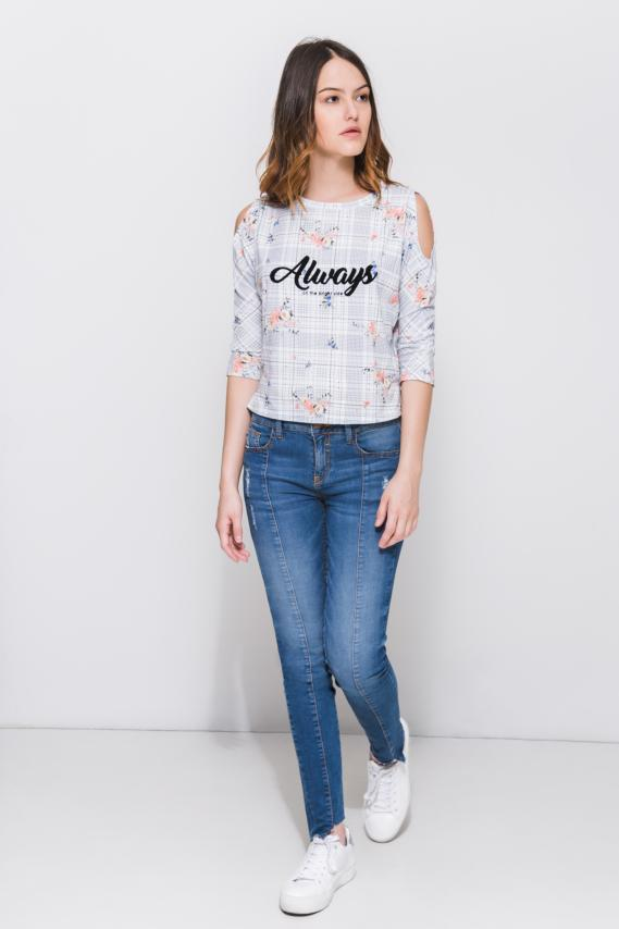 Jeanswear Blusa Koaj Sitem 1/18