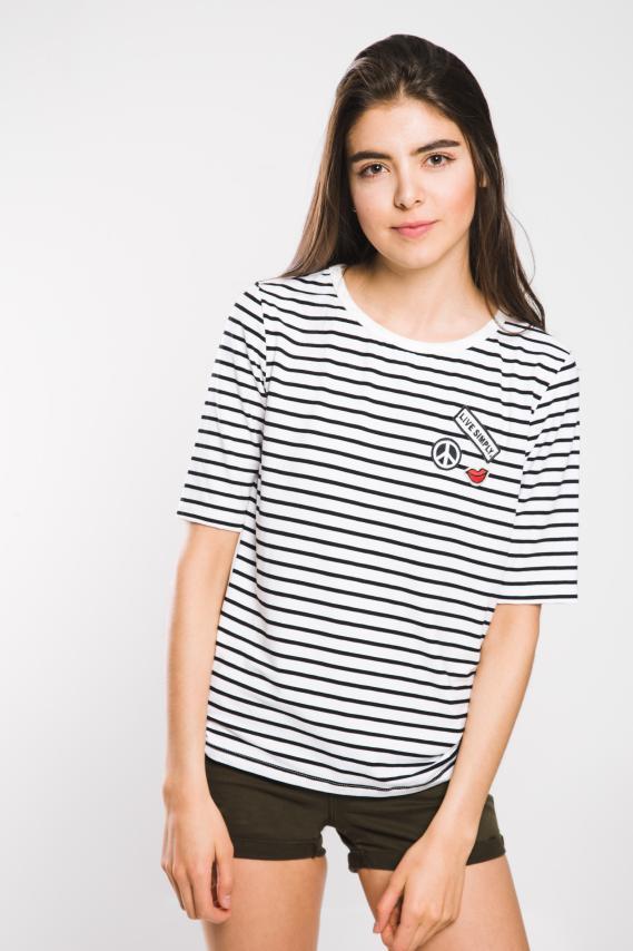 Jeanswear Camiseta Koaj Astrip 2/17