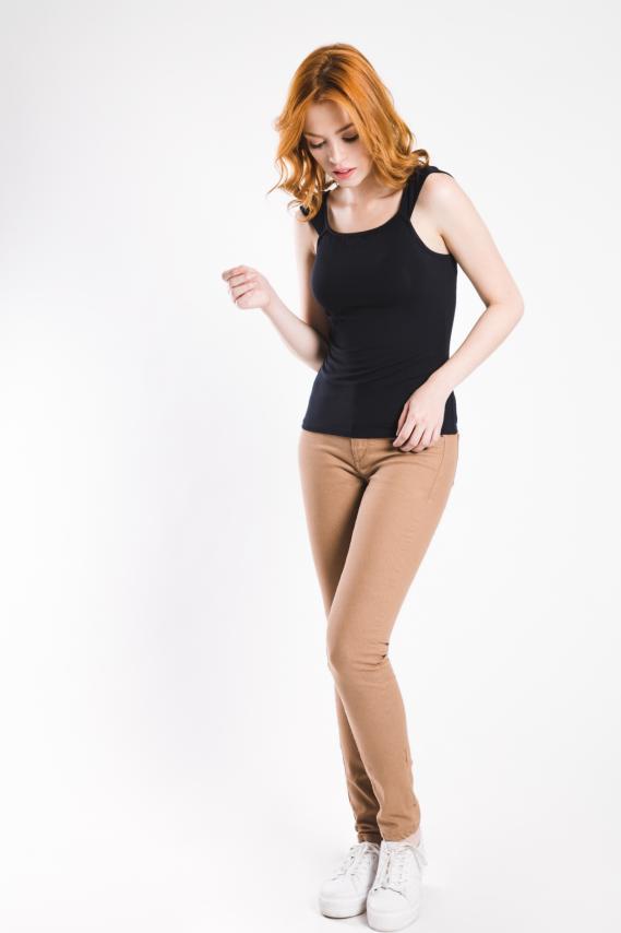Jeanswear Blusa Koaj Grid 3/17