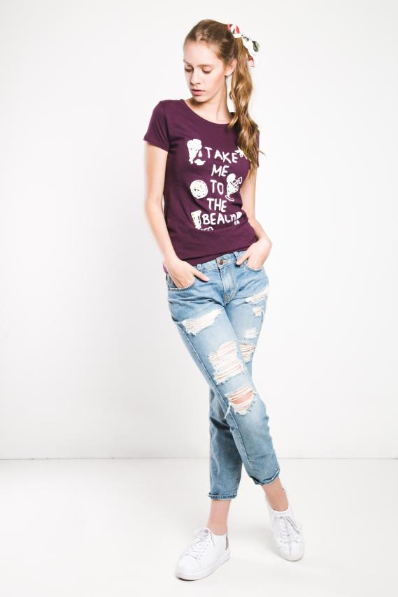 Basic Camiseta Koaj Berie 6d 3/17