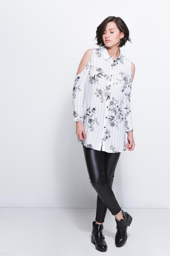 Jeanswear Blusa Koaj Clouty 1/18