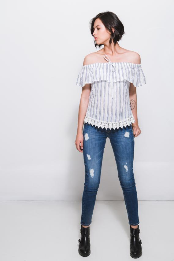 Jeanswear Blusa Koaj Ramy 2/18