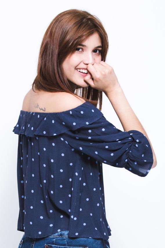 Jeanswear Blusa Koaj Blumy 2/18