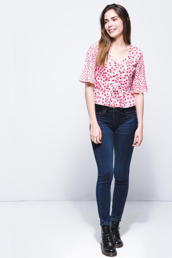 Jeanswear Blusa Koaj Polky 2/18