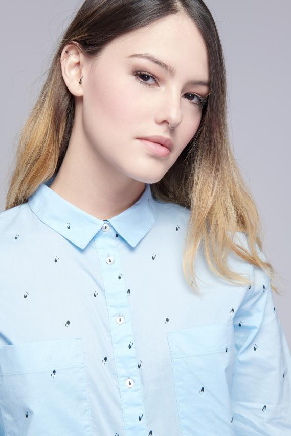 Jeanswear Blusa Koaj Aeryn 3/18