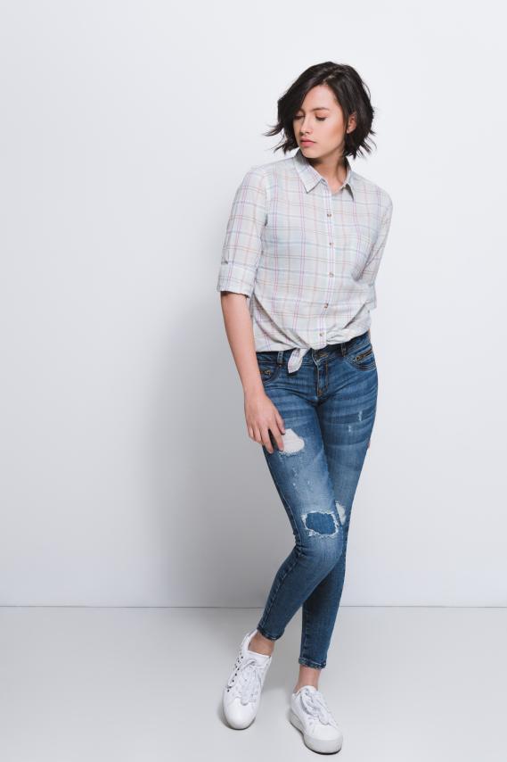 Jeanswear Blusa Koaj Zilvana 4/17