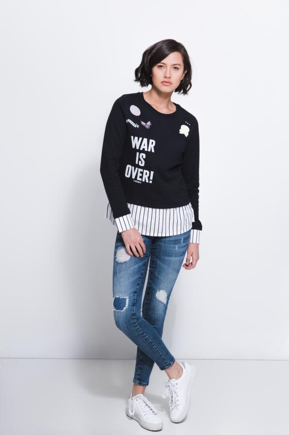 Jeanswear Sueter Koaj Beatry 4/17