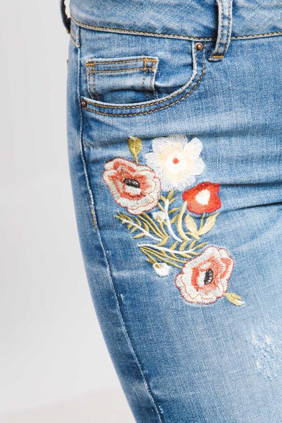 Jeanswear Pantalon Koaj Flowwer Curvy Fit 4/17