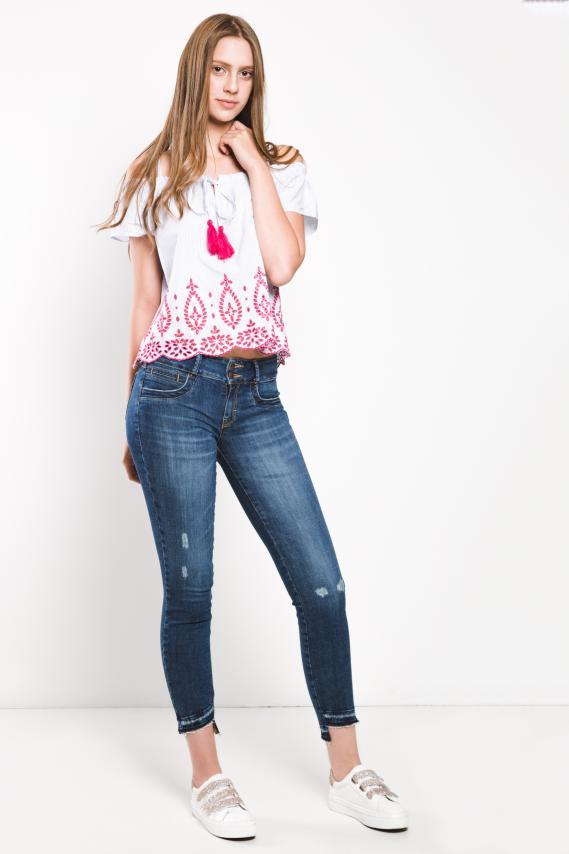 Jeanswear Pantalon Koaj Valty Push Up Fit 4/17