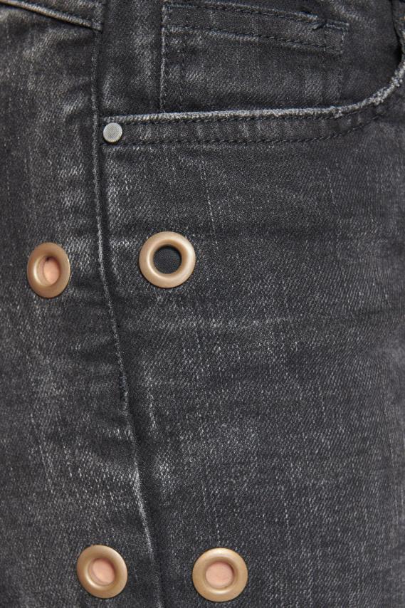 Koaj Pantalon Koaj Eyelet Boy Friend 4/18