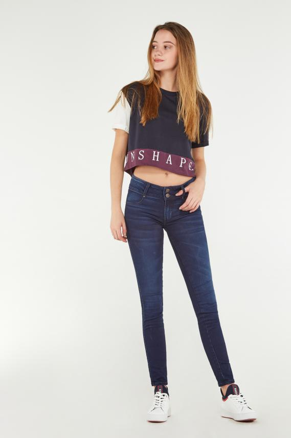 Koaj Pantalon Koaj Jean Push Up 33 3/19
