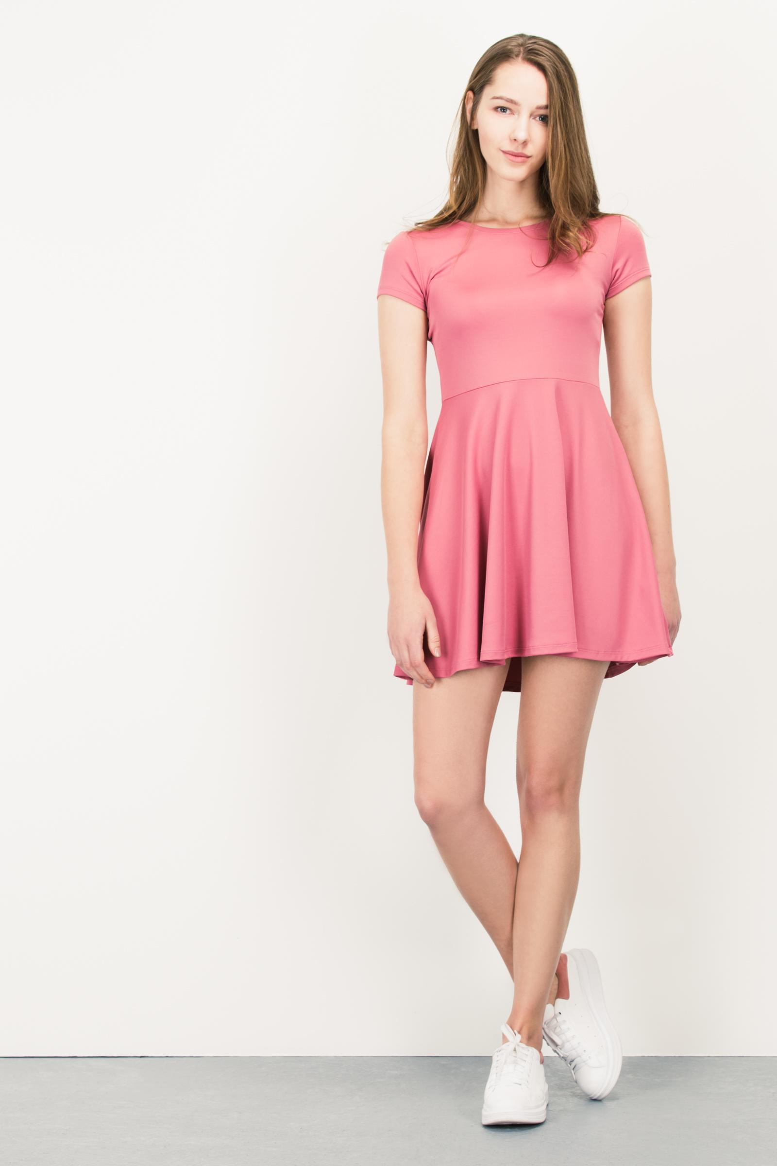 Moderno Vestidos De Dama Naranja Rústico Bosquejo - Colección de ...
